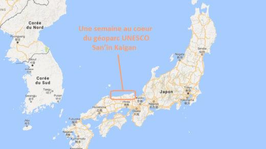 JNTO - Géoparc UNESCO San'in Kaigan au Japon, dans les préfectires de Kyoto, Hyogo et Tottori