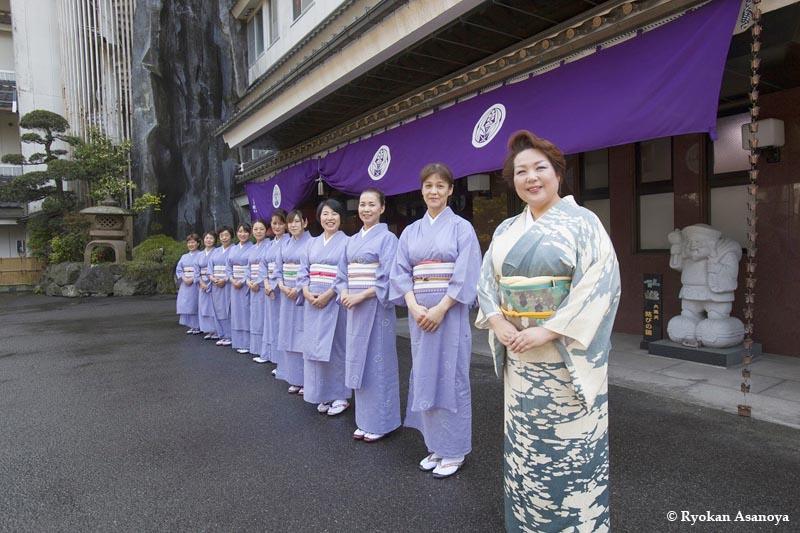 Ryokan Asanoya : une nuit en auberge traditionnelle haut de gamme